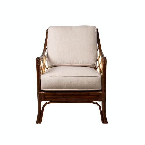 Capris Furniture - Occassional Chair, Coffee Bean Finish.