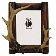 "Antler Wooden Picture Frame (5x7/8x10) - 5"" X 7''"