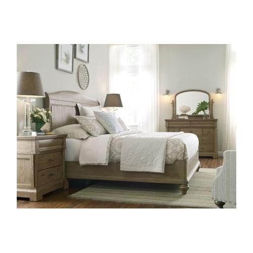 Serenity Sleigh Ca King Bed - Complete