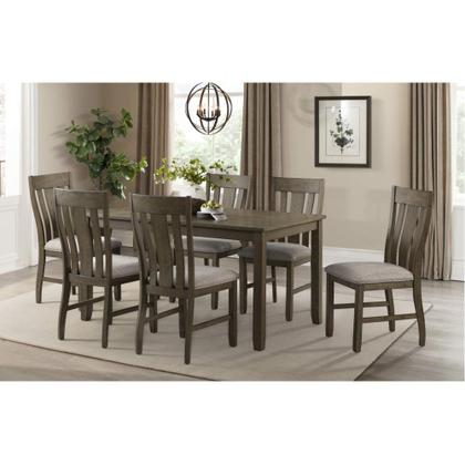 5046 Everett 7-Piece Dining Set (Table & 6 Chairs)