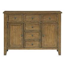 See Details - Vintage Sideboard, Honey Oak