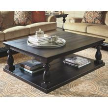 Mallacar Rectangular Cocktail Table Black