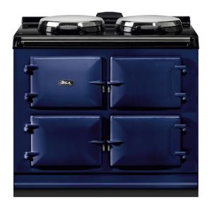 "AGAAGA Dual Control 39"" Electric/Natural Gas Dark Blue with Stainless Steel trim"