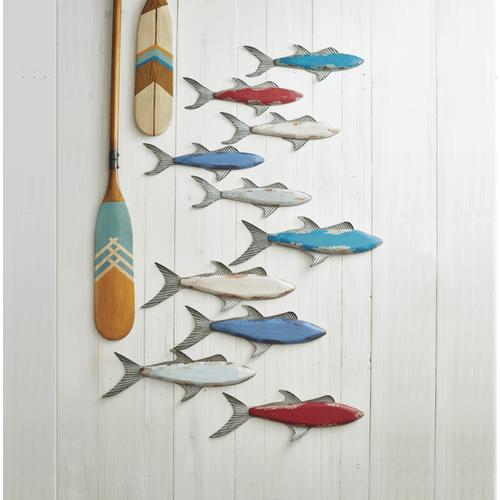 Large Fish Wall Decor (5 asstd)