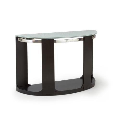 Croften Cracked Glass Sofa Table 15mm
