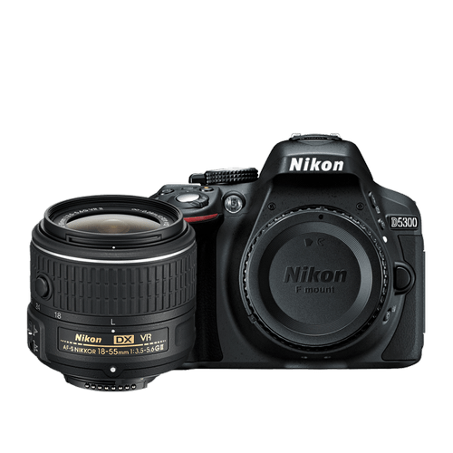 D5300 18-55mm VR II Lens Kit Black