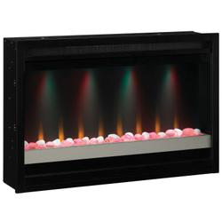 """36"""" Contemporary Built-In Electric Fireplace Insert, 120v"""