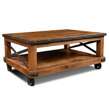Coffee Table / Cocktail Table - Rustic Collection