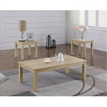6612 3PC Contemporary Table SET