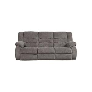 98606 Tulen Gray Reclining Sofa and Loveseat