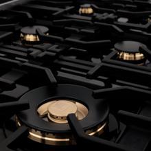 See Details - ZLINE 6 Brass Burners (BRASSBR-36)