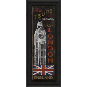 """London Tours"" By Conrad Knutsen Framed Print Wall Art"