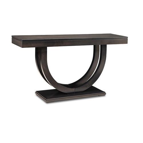 """- Contempo Pedestal 60"""" Sofa Table"""