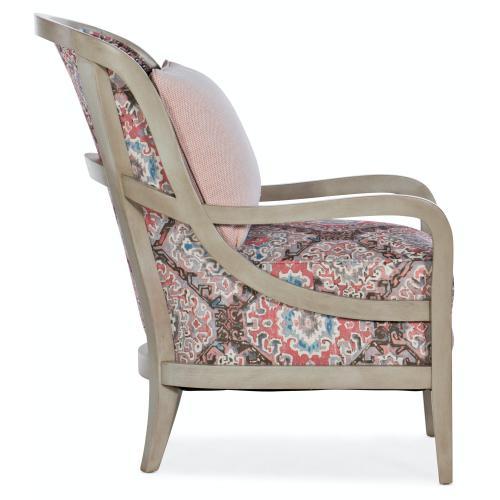 Living Room Carlisle Exposed Wood Chair