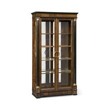 Regency Antique Mahogany Display Cabinet