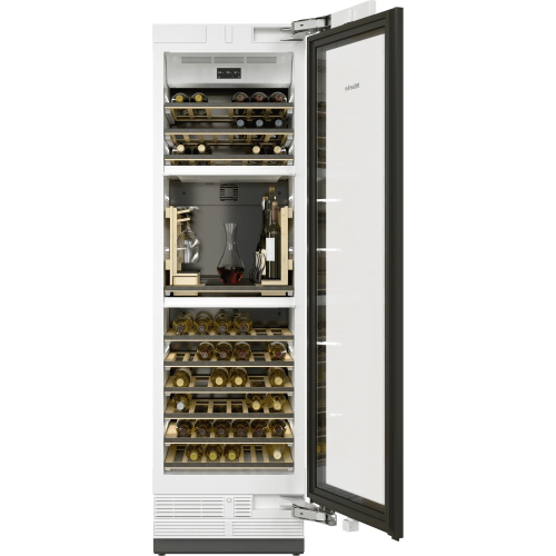 Miele - KWT 2662 ViS - MasterCool Wine Conditioning Unit For high-end design and technology on a large scale.