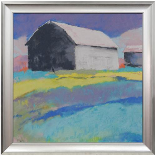 Style Craft - SUMMER DAY  41in w X 41in ht  Textured Framed Print  Made in USA