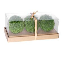 View Product - S/3 Boxwood Decorative Spheres