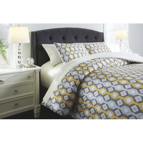 Mato 3-piece Queen Comforter Set