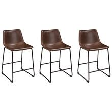Centiar Dining Room Counter Height Bar Stool (set of 3)