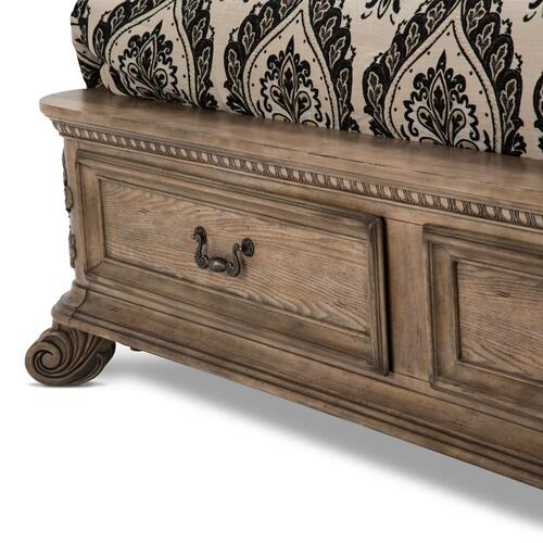 Eastern King Bed W/drawers