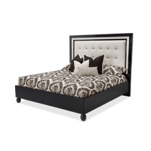 Sky Tower Queen Headboard Black Ice