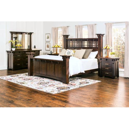 M Kayla Grande Bed, California King