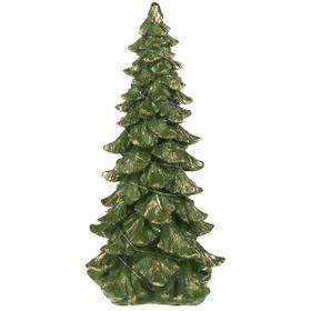 Light Up Christmas Tree Figurine - Lg.