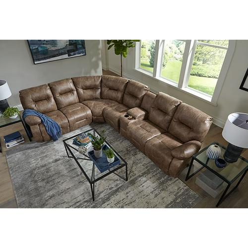 BRINLEY SECT. Reclining Sectional