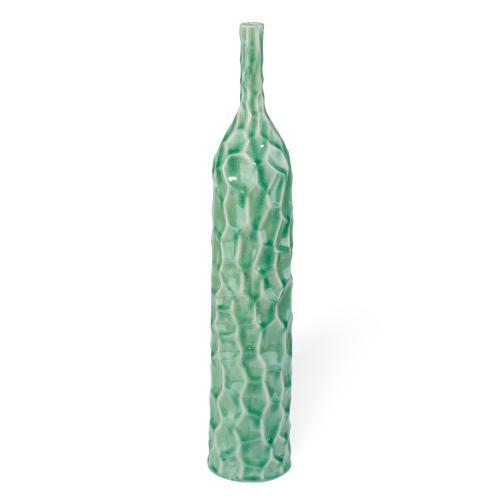 Giada Hammered Ceramic Vases - Ast 4