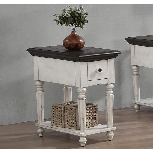Vintage Estates Chair Side Table (rta)