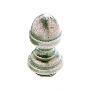 "Acorn Finial Cap 5/8"" Barrel Silicon Bronze Brushed Product Image"