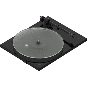 Black- Pro-Ject T1 Phono SB Turntable