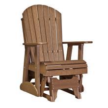 See Details - 2 Adirondack Glider Chair, Antique-mahogany
