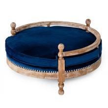 Divani Casa Camrose - Modern Fabric Round Pet Bed