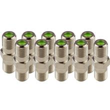 (10-Pack) Dual Female Splice Adapter