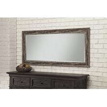 Farmhouse Antique Black Leaner Mirror - Antique Black