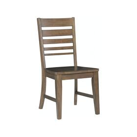 Ladderback Chair in Pewter