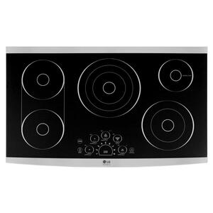"LG AppliancesSTUDIOLG STUDIO 36"" Electric Cooktop"