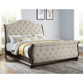 Rhapsody King Sleigh Bed