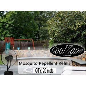 MISTER FAN 20 PK Mosquito MATS