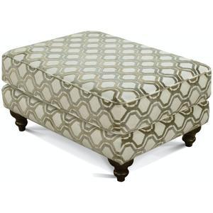 England Furniture4Y07 Rosalie Ottoman