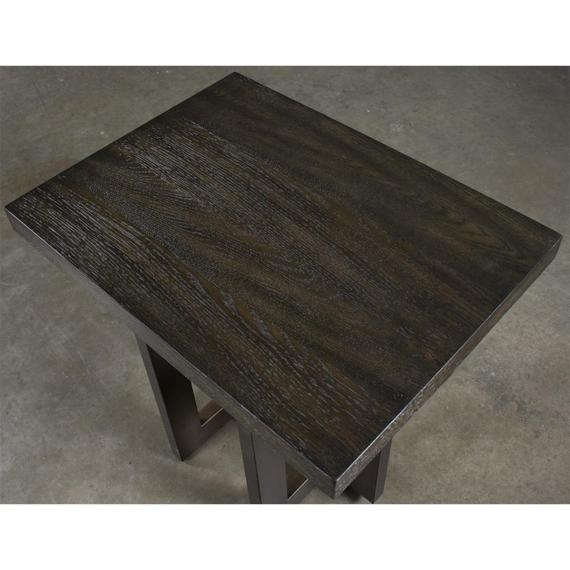 Riverside - Magnus - Side Table - Umber Finish