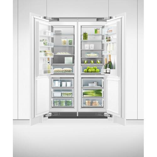 "Integrated Column Freezer, 24"", Ice"