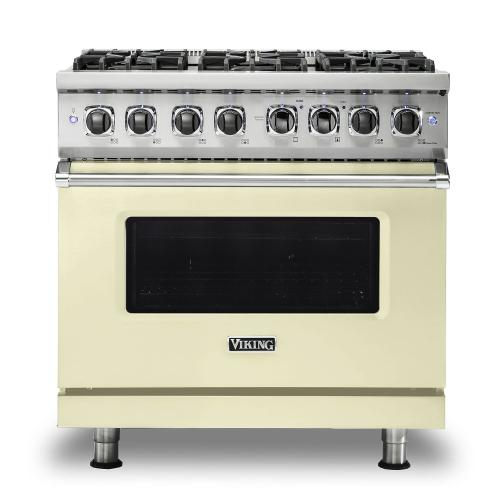 "36"" Dual Fuel Range - VDR536 Viking 5 Series"