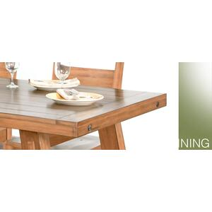 Sunny Designs - Sierra Dining Table w/ Turnbuckle