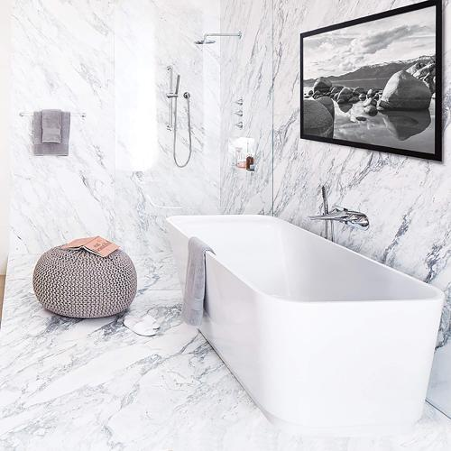 DXV Modulus Freestanding Tub - Canvas White