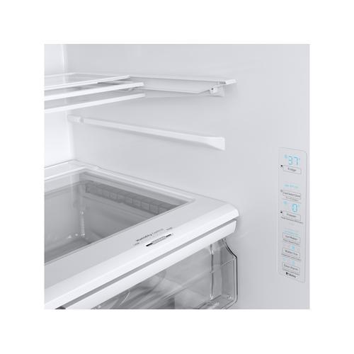 28 cu. ft. Smart 3-Door French Door Refrigerator with AutoFill Water Pitcher in White