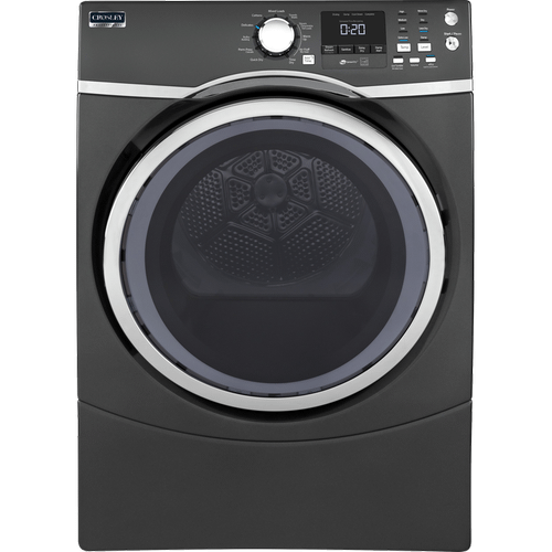 Crosley Professional Dryer - White, Diamond Gray