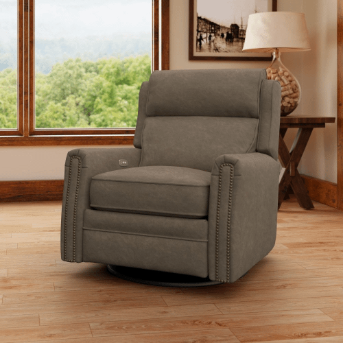 Camelot Power Reclining Swivel Chair CL737-10/PRSWV